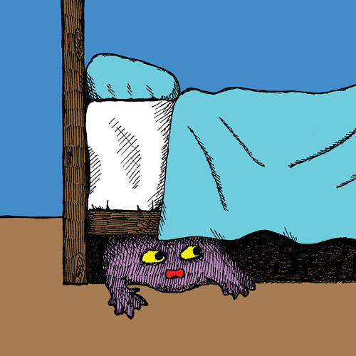 """inserto """"il mio mostro sotto il letto"""""""