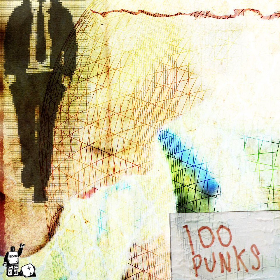 "Cover Cd ""100 punks"""