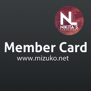 "Welcome the ""Member Card"""